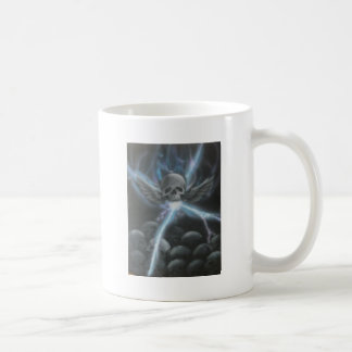 black n blue coffee mug