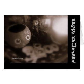 Black n Fright Card