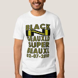 BLACK N GEAUXLD NEW ORLEANS  T-SHIRT