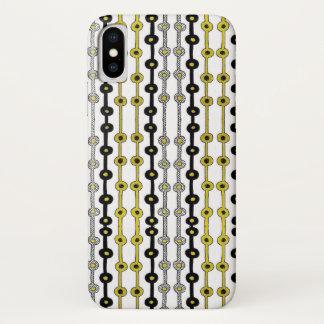 Black n Gold iPhone X Case