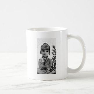 black n white baby  Buddha (2) Coffee Mug