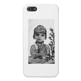 black n white baby  Buddha (2) iPhone SE/5/5s Cover