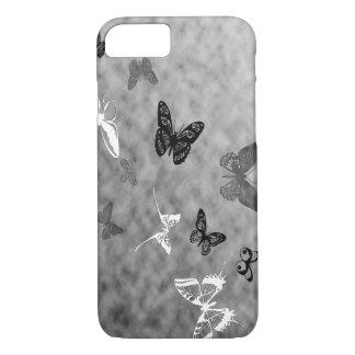 Black n White Butterflies iPhone 7 Case