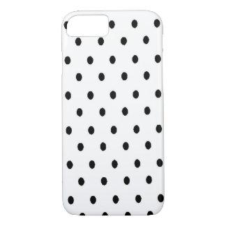Black n White Dots iPhone 7 Case