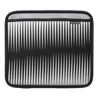 Black-n-White Frequency Sleeve For iPads