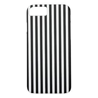 Black n White Stripes iPhone 7 Case