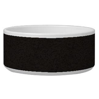 Black Natural Cork Bark Look Wood Grain Bowl