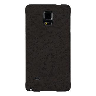 Black Natural Cork Bark Look Wood Grain Galaxy Note 4 Case