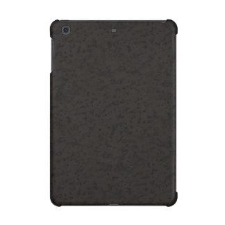 Black Natural Cork Bark Look Wood Grain iPad Mini Covers
