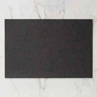 Black Natural Cork Bark Look Wood Grain Paper Pad