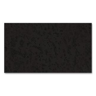 Black Natural Cork Bark Look Wood Grain Magnetic Business Cards (Pack Of 25)