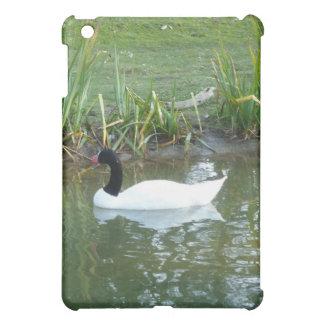 Black Neck Swan iPad Mini Covers