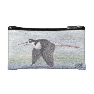 Black-necked Stilt Cosmetic Bag