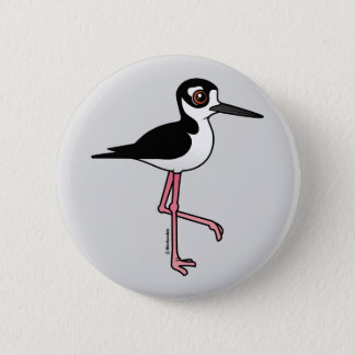Black-necked Stilt Pinback Button