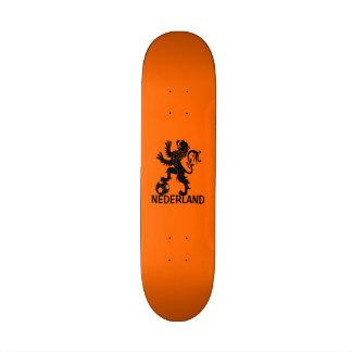 Black Nederland Lion - Dutch Soccer Lion Skateboards