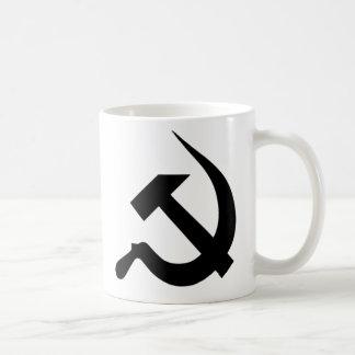 Black Neo-Hammer & Sickle Coffee Mug
