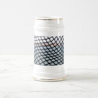 Black Net Beer Stein
