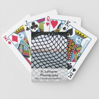 Black Net Bicycle Playing Cards