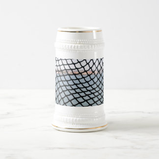 Black Net 18 Oz Beer Stein