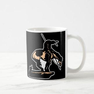 Black New End Of Trail Coffee Mug