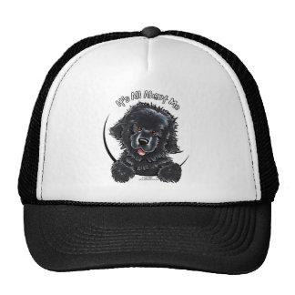 Black Newfie IAAM Trucker Hat