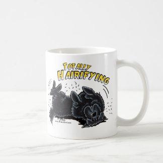 Black Newfie Totally Hairifying Coffee Mug