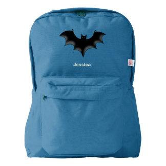 black night bat american apparel™ backpack