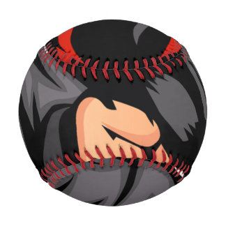 black ninja cartoon. baseball