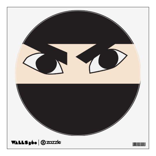 Black Ninja Wall Decal