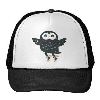 Black Nite Owl Trucker Hat