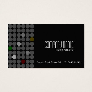 Black Noise Business Card