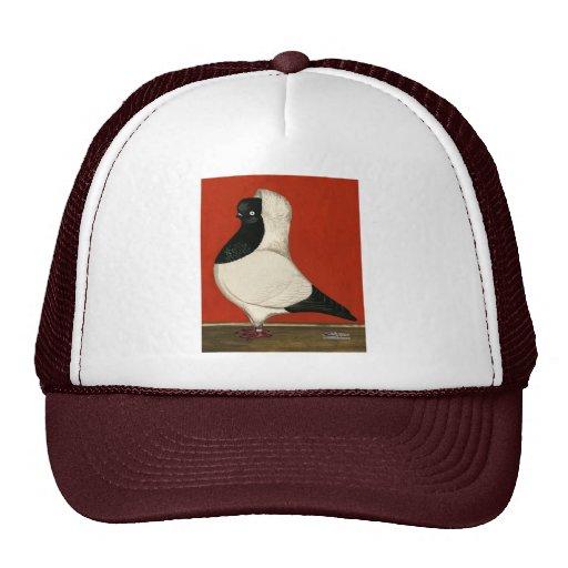 Black Nun Pigeon Trucker Hat