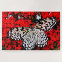 Black Nymph Butterfly . Jigsaw Puzzle