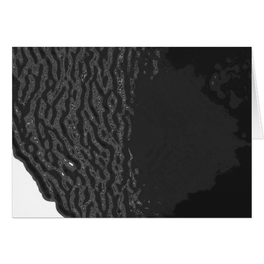 Black Ocean Card