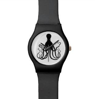 Black Octopus Watch