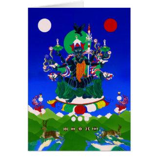 Black Ögyen Chenrezigs [card] Greeting Card