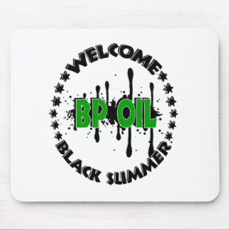 BLACK OIL SUMMER MOUSE PAD