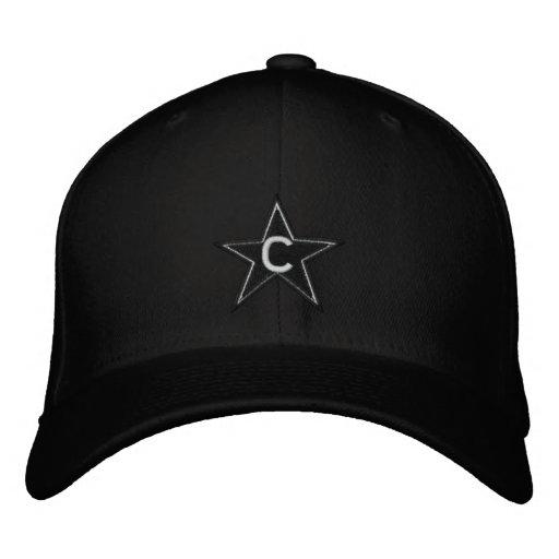 BLACK ON BLACK Embroidered Hat