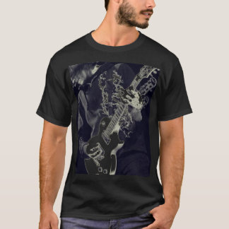 Black on Black guitar T-Shirt