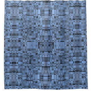 Shower Curtains black and blue shower curtains : Cornflower Shower Curtains | Zazzle