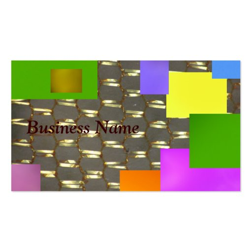Black on Gold Business Cards