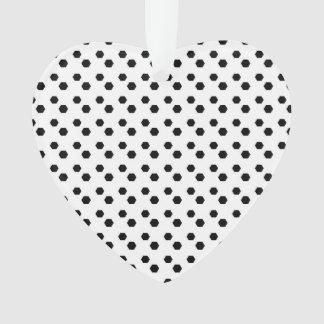 Black on White Dot Design