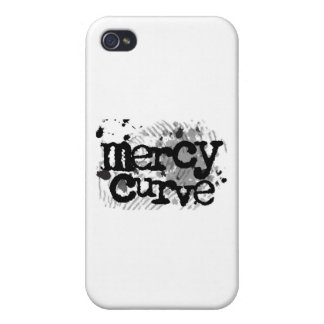 Black on White Mercy Curve Accessories iPhone 4 Cases