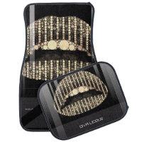 Black Onyx Lips Diva Bling Car Mat Sets