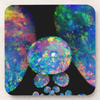 Black Opals Extradinair Gifts by Sharles Beverage Coasters