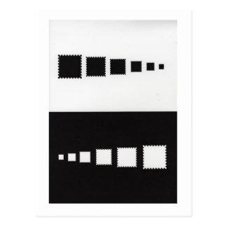 Black or White Postcard