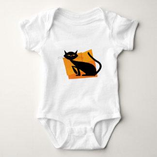 Black & Orange Cat Shirts