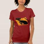 Black & Orange Cat Tshirts
