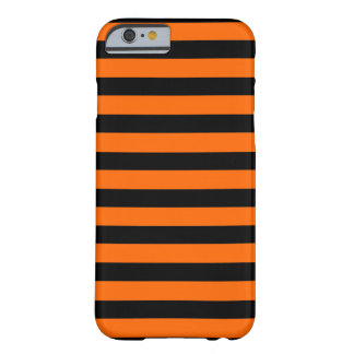 Black Orange Stripe horizontal iPhone 6 case