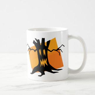 Black & Orange Tree Mugs